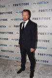 Fortitude' - UK Premiere - Arrivals. LONDON, ENGLAND - JANUARY 14: Richard Dormer attends the UK Premiere of Sky Atlantic's 'Fortitude' on January 14, 2015 in Stock Photography