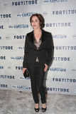 Fortitude' - UK Premiere - Arrivals. LONDON, ENGLAND - JANUARY 14: Soife Grabol attends the UK Premiere of Sky Atlantic's 'Fortitude' on January 14, 2015 in Royalty Free Stock Image