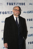 Fortitude' - UK Premiere - Arrivals. LONDON, ENGLAND - JANUARY 14: Stanley Tucci attends the UK Premiere of Sky Atlantic's 'Fortitude' on January 14, 2015 in Stock Photography