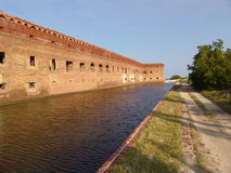 fortjefferson nationalpark Arkivfoton