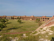 fortjefferson nationalpark Royaltyfria Foton