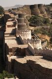 fortkumbhalgarh arkivfoton