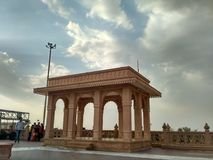 Fortkunst in Rajasthan Stockbilder