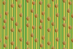 Fortlöpande sömlös modell för påskägg vektor illustrationer