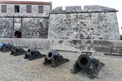 Fortless of Real Fuerza at Havana on Cuba Royalty Free Stock Image
