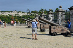 Fortless of Real Fuerza at Havana on Cuba Royalty Free Stock Photos