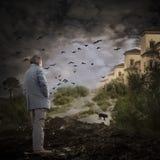 Fortleva apokalypset Royaltyfri Bild