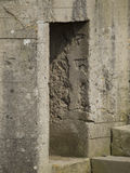 Fortleva observation bunkra på Pointen du Hoc, Frankrike Royaltyfri Bild