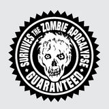 Fortlever Zombieapokalypset/garanterade Royaltyfria Foton