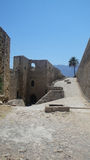 Fortn in Kyrenia. The view of the ancient fort in Kyrenia at Nothern Cyprus Stock Image