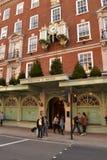 Fortnum και πολυκατάστημα Λονδίνο του Mason Στοκ εικόνα με δικαίωμα ελεύθερης χρήσης