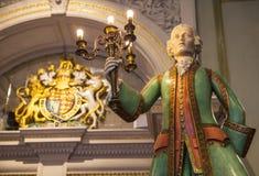 Fortnum en Metselaar in Londen Royalty-vrije Stock Afbeelding