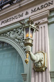 Fortnum and Mason in London Royalty Free Stock Photos