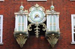Fortnum & Mason mechanical clock Royalty Free Stock Photo