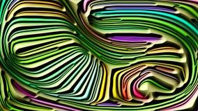 Fortplanta av abstrakta former vektor illustrationer