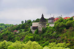 Fortrees de Kamianets-podilskyi Imagens de Stock Royalty Free