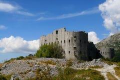 Fortres Kosmac - Montenegro Royalty Free Stock Image