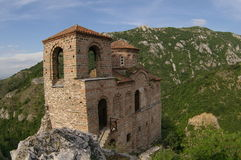 Fortress. The fortress Asenova Krepost,Bulgaria Royalty Free Stock Image
