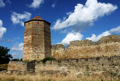 Fortress. Ancient fortress in Belgorod-Dnestrovskiy, Ukraine Royalty Free Stock Photos