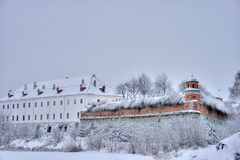 Fortress. On a photo Ukraine. Dubno. fortress Royalty Free Stock Photo