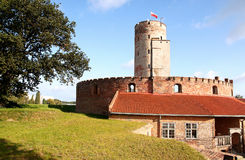 Fortress. Famous Wisloujscie fortress in Gdansk, Poland Royalty Free Stock Photography