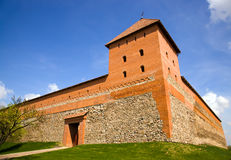 Fortress. The part of a fortress located in a city of the Lead (Belarus Royalty Free Stock Photo