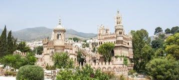 Fortress. Spain, Costa del Sol, Benalmadena Costa Royalty Free Stock Photos