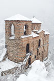 Fortress. The fortress Asenova Krepost,Bulgaria Royalty Free Stock Photos