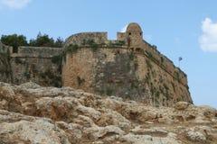 FORTRESS. Ancient greek fortress in Kreta Royalty Free Stock Photo