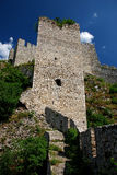 Fortress. Golubac fortress on the river Danube Royalty Free Stock Image