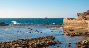 Fortress of Acre Stock Photography