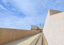 Fortress Aguilas ,Murcia, Spain. Wall of fortress Aguilas, Murcia, Spain Royalty Free Stock Photos