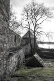fortress of Akershus - a castle in Oslo stock photo