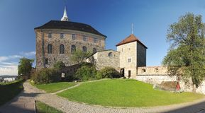 Fortress Akershus Festning in Oslo Royalty Free Stock Photo