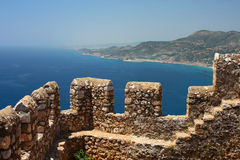 Fortress in Alanya Royalty Free Stock Images