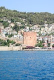 The fortress of Alanya Royalty Free Stock Photo