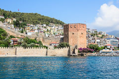 The fortress of Alanya Royalty Free Stock Photos