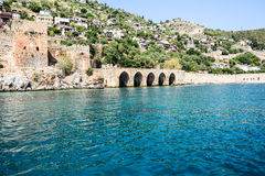 The fortress of Alanya Royalty Free Stock Images