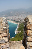 Fortress in Alanya, Turkey Stock Images