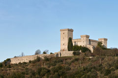 The fortress albornoz in narni Royalty Free Stock Images