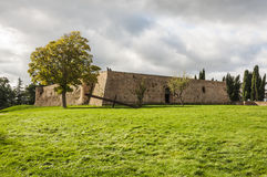 Fortress Albornoz Stock Photo