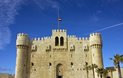Fortress in Alexandria Royalty Free Stock Images