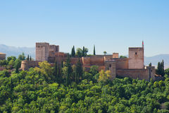 Fortress of Alhambra, Spain Stock Photos