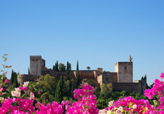 Fortress of Alhambra, Spain Stock Image