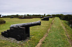 Fortress in Ancud, Chiloe Island, Chile Stock Photography