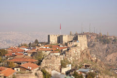 Fortress of Ankara Stock Photography