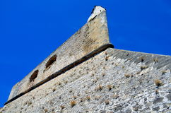 Fortress of antibes, france with blue sky Royalty Free Stock Photo