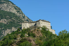 Fortress of Bard Royalty Free Stock Photography