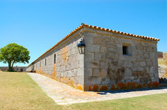 Fortress barracks. Barracks at Santa Teresa Fortress.  Rocha.  Uruguay Stock Images