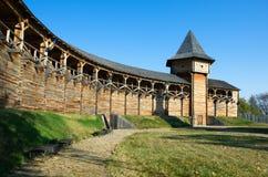 Fortress in Baturyn Ukraine stock photography